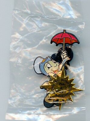 Walt Disney Feature Animation Florida Pinocchio Jiminy Ink & Paint Cel LE Pin