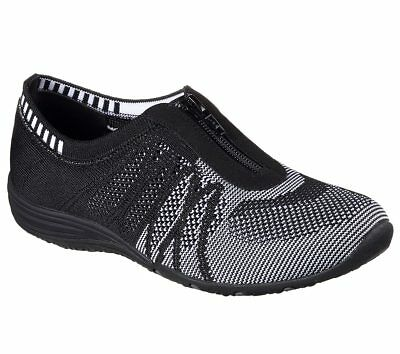 badd703308a0 New Womens Skechers Grey Flex Appeal Obvious Choice Nylon Trainers Running  Style