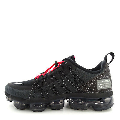 4dae8ff0d35 Nike Air Vapormax Run Utility  AQ8810-001  Men Running Shoes Black Silver