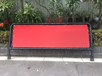 Cafe Barriers Two Sizes. Small 1100 X 730 mm Large 2200 X 730 mm