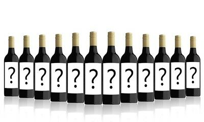 AU Mystery Shiraz Red Wine Mystery Case (12x750ml) Free Shipping!