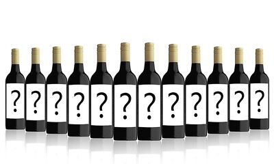 RRP $199! AU Mystery Shiraz Red Wine Export Only Mystery Case 2016 (12x750ml)