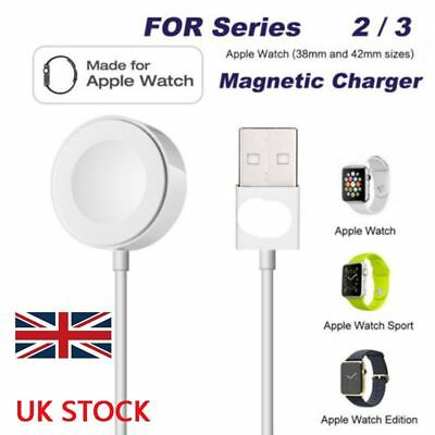 1M Magnetic Charging Cable Wireless Charger Dock For Apple Watch iWatch 2 3