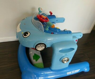 MOTHERCARE Car Baby Walker with lights & sounds.