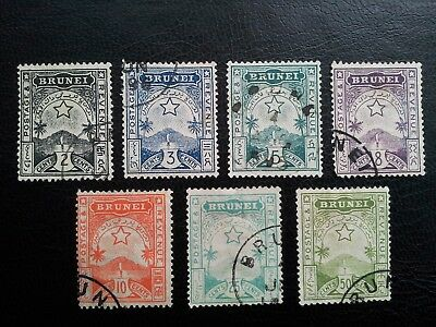 Brunei stamps 1895 used