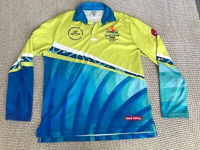 Hard Yakka GC Gold Coast 2018 Commonwealth Games Volunteer Shirt Polo S L XL XXL