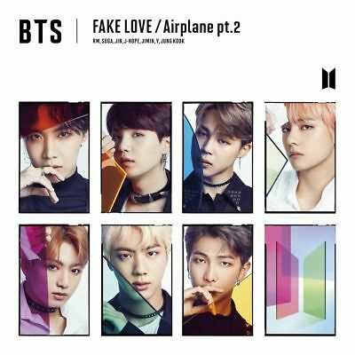 BTS (Bangtan Boys) Japan 9th Single [FAKE LOVE/Airplane pt.2] FC Limited Edition