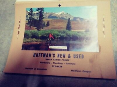 Huffmans New and Used 1974 Calendar