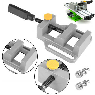 Bench Mechanic Table 60mm Drill Vise Grinding Machine Diy Work Clamp Press Tool