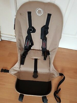 Bugaboo buffalo beige seat fabric with straps