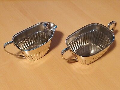 Silvercraft Sheffield England - Sugar and Cream Set