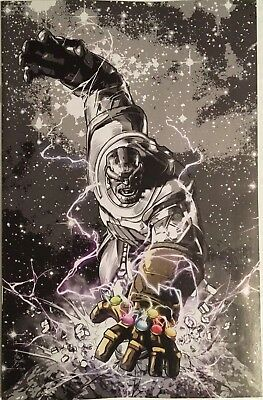 Thanos Legacy 1 Nycc 2018 Mike Deodato Exclusive B&w Sketch Virgin Variant Nm