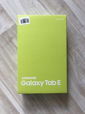 Samsung Galaxy Tab E SM-T560 8GB, WLAN, 24,4 cm (9,6 Zoll) - Metallic Black