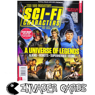 Total Film SFX Present 100 Greatest Sci-Fi Characters Of All Time Magazine Book