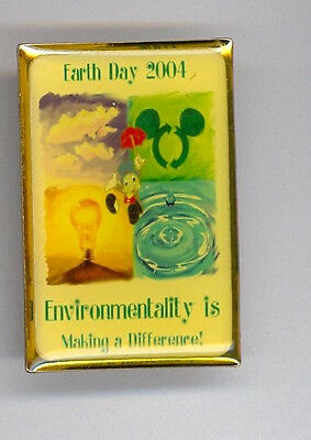 Disney Disneyland Earth Day Pinocchio Jiminy Cricket Cast Exclusive LE Pin