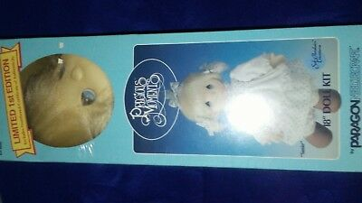 Precious Moments Limited Edition 18 in Doll Kit 4000 Susie W/ Cert. Of Authentic