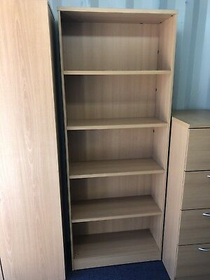 Office Bookcases Heavy Duty Mint Condition 204cm High (5 In Stock) £79 Each