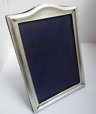 Lovely Condition Genuine English Antique 1917 Solid Sterling Silver Photo Frame