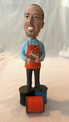 2011 Home Depot JOE MCFARLAND Bobblehead, Values Wheel, Homer Fund