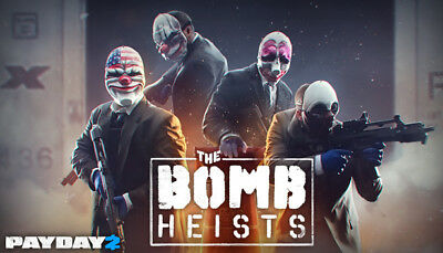 PAYDAY 2: The Bomb Heists DLC Steam Key PC Digital Download