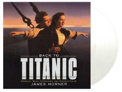 James Horner Back To Titanic  [2LP (EXCLUSIVE CLEAR 180 Gram) IN STOCK