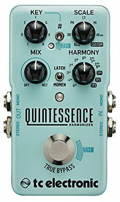 TC Electronic Quintessence Harmony Generator Pedal Guitar with TonePrint Support