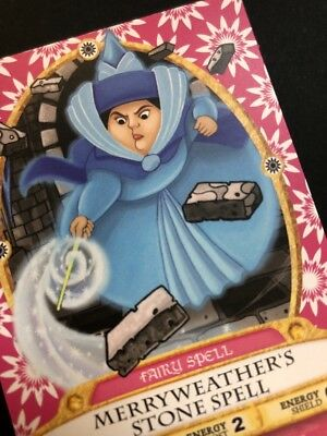 RARE!  Sorcerer's of the Magic Kingdom Merryweather's Stone Spell Card #67!