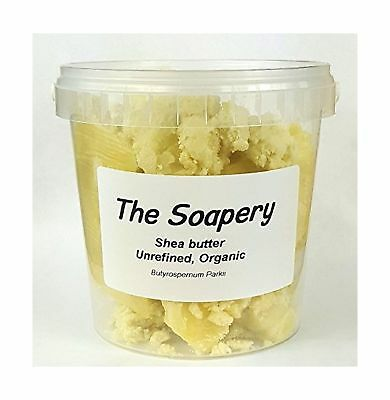 Shea butter 1kg - Certified Organic, Unrefined, Raw, Natural - 100% Pure