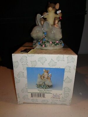 Charming Tails Mouse Rushmore by Fitz Floyd 82/115 NIB