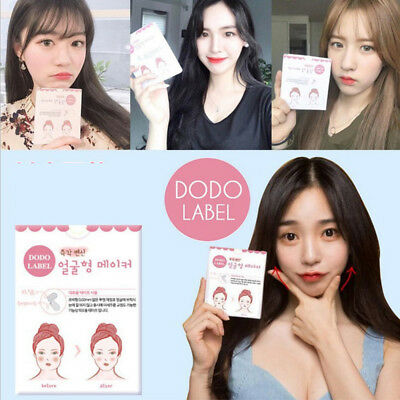 Korean V-Shape Facial Invisible Label Fast Face Lift Up Maker Chin Adhesive Tape