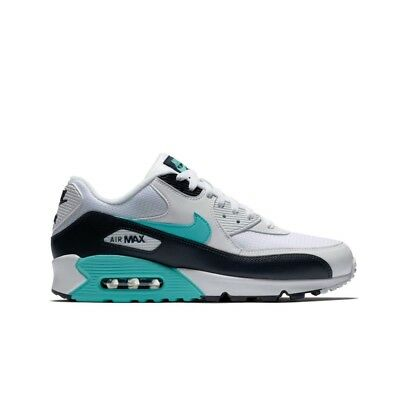 outlet store ce1ad fcd0d Nike Air Max 90 (White Aurora Green-Obsidian) Men s Shoes AJ1285-