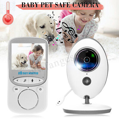 2.4'' Wireless LCD Digital Baby Monitor Audio Video Security Camera Night Vision