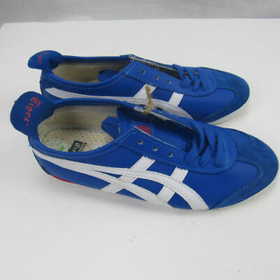 newest collection 0f2e4 527a0 ONITSUKA TIGER ASICS SHOE HL 202 Bue SUEDE White Leather NEW Size 5.5
