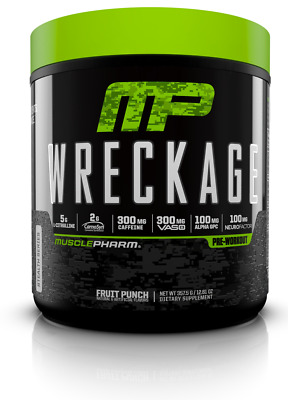 MusclePharm WRECKAGE Pre-Workout Energy Endurance - 25 Servings PICK FLAVOR