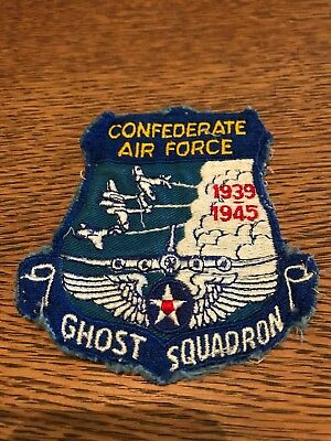 Confederate Air Force Ghost Squadron Vintage Patch