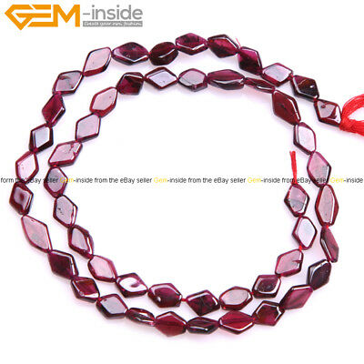 """Natural Assorted Shape Genuine Red Garnet Beads For Jewelry Making 15"""" Strand"""