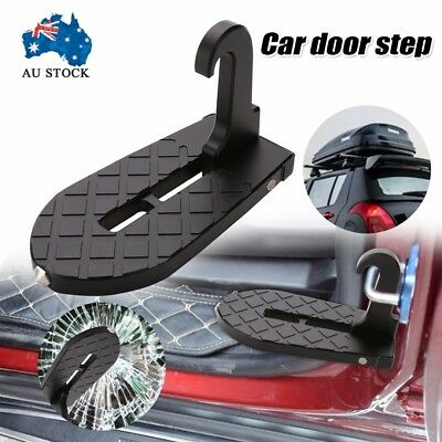 Doorstep Vehicle Access Roof Of Car Door Step Give You Latch Step Easily Rooftop