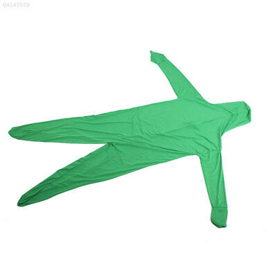 F264 Photo Video Body Costume Green Screen Suit Comfortable Stretchy Party