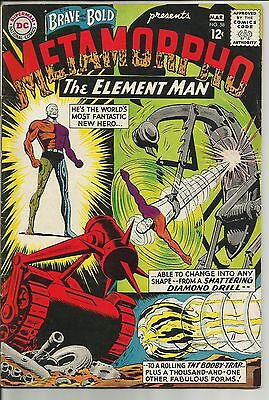 The Brave and the Bold #58 (Feb-Mar 1965, DC) METAMORPHO, FINE/VERY FINE WOW!