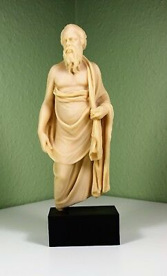 British Museum resin cast of a statuette of Socrates. Philosophy.
