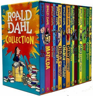Roald Dahl Collection 16 Books Set, BFG, Matilda, The Witches, The Twits ...