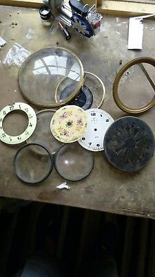 Antique clock spare parts