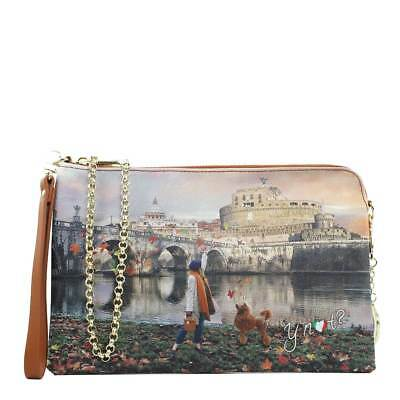 BORSA DONNA Y Not  Tracolla Con Catena E Polsiera Autumn In London K ... a0b1e4cb6a8