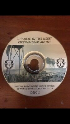 """Charlie in the wire"" Combat Vietnam War 2 Audio Cds"