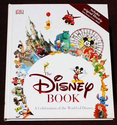 A Celebration of the World of Walt Disney History BOOK (2015) Disneyland Vintage