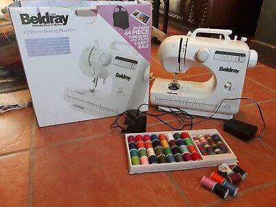 beldray 12 stitch sewing machine non working but fixable.