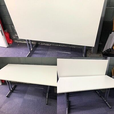 Flip-top Meeting Tables (21 In Stock) 1.4m  X 800mm £69 Each New Tops!