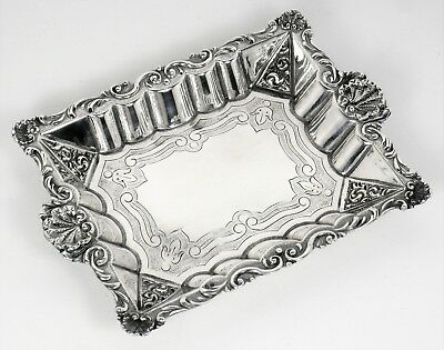 Bowl relief and engraved work very beautiful solid silver