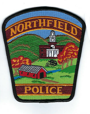 Northfield (Washington County) VT Vermont Police Dept. patch - NEW! BRIDGE