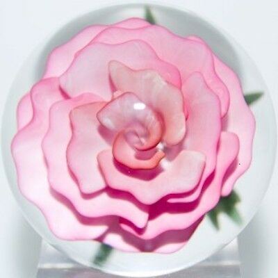 "JOHN KOBUKI  ROSE Flower, 1 3/4 "" Marble = 4.445 cm beautiful & mint condition"